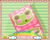 :G: Frog Cube Earrings
