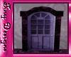 Tiny Purple Loft Door