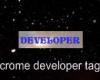 crome developer tag