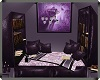 Dark Violet Reading Nook