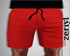 ZRL - RED SWIMMING SHORT