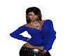 *Calli* Blue Sweater