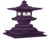Purple Garden Lantern