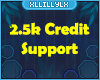 Support 2.5K