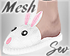 *S Bunny Slippers M