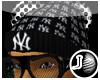 [LF] NY Black Wolly Hat