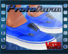 P  Vans S Fire Blue