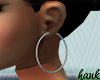H- FAMILY JEWELS HOOPS
