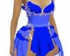 Peri Biru Dress