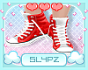 !!S Kids Red Kicks
