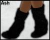 .A. Black Boots