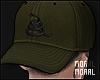 Snake Print Cap