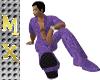 Shirt SnakeSkin Purple