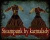 steampunk steam dress
