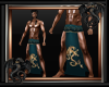 Green Dragon Loincloth