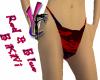 Red & Blue Bikini Bottom