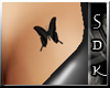 #SDK# D Butterfly Tattoo