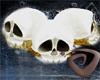 Wyrm Lace-N-Skulls Veil