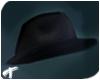 Raven | Fedora Hat