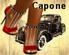 ~H~Ms Capone Heels Red