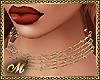 :mo: GOLD DIAMOND CHOKER