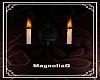 ~MG~ Crimson WallCandles