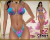 cK Bikini Blue Flowers