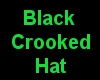 Black Crooked Hat