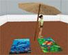 Beach Umbrella Towel