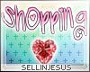 $J Shopping Pink Sign