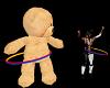 {LA} Hula hoop Teddy