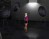 model pose lights camera