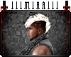 Mohawk Skull {Blk&Blonde