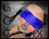 TTT Blindfold Sheer Blue