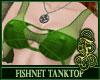 Fishnet Top Green