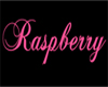 Raspberry Floor Sign