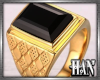 [H]Gold Ring ► BlkOnyx