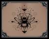 Bumble Bee Back Tattoo