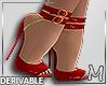 Heels* Red