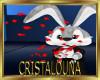 Gentleman romantic bunny + kiss