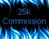 25k Commission Sticker