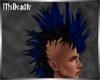 💀 Black Blue Mohawk