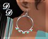 Pride Butterfly Hoops