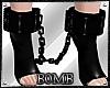 B! PVC Chain Ankle Cuffs