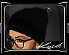 Kd.Black Beanie V2