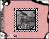 [AB]Drummer Stamp