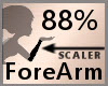 Scale ForeArm 88% F A