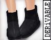 ! Low Fur Boots