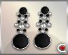 *SC-Blk Sparkle Earrings
