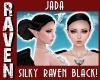 JADA RAVEN BLACK BUN!